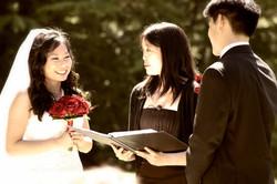 A Beautiful Blushing Bride
