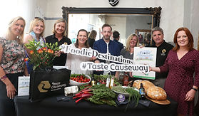Taste Causeway Named Runner Up in All Ireland Foodie Destination Search