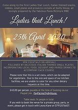 Ladies that Lunch - April