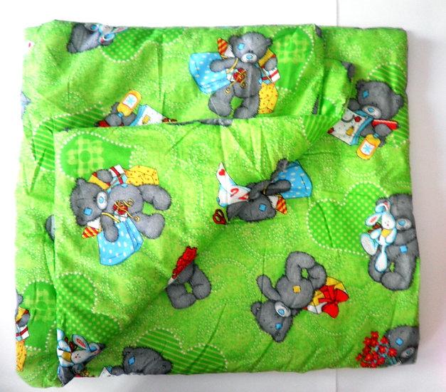 Одеяло цветное 118*118