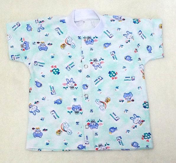 Рубашка с коротким рукавом (кулир)