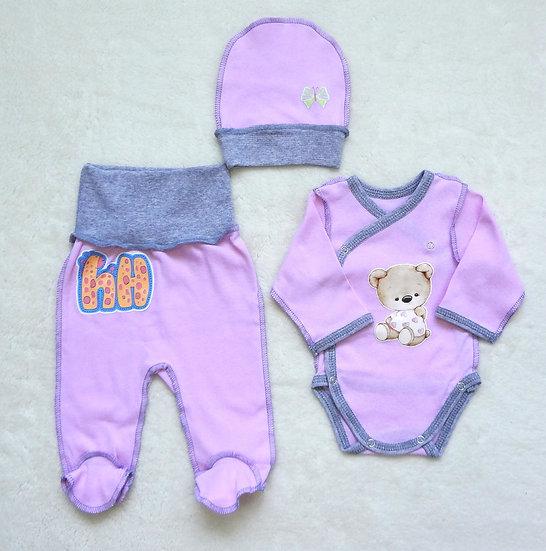 Комплект для малыша 3 предмета