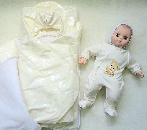 """Комплект """"Радость"""" конверт с одеялом 5 предметов"""