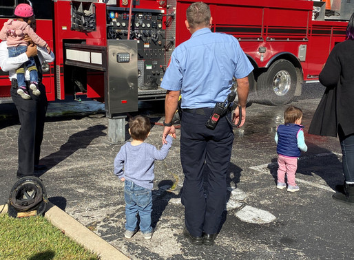 A visit from St. Louis Fire Department