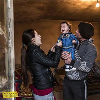 Human Landscape -  Yoruk Family, Macedonia  2017  Image: Gillian Allard © Sky Arts 2017