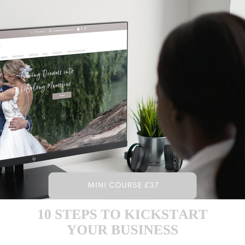 This mini course will give you the essential checklist to kick start your photography business