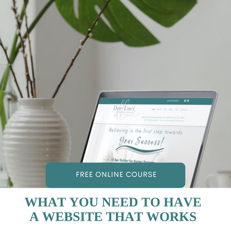 This mini course will give you the checklist of things to consider when building your very own website so that your ideal client and user experience is easy