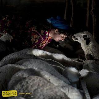 Human Landscape - Yoruk Shepherdess,  Macedonia  2017  Image: Gillian Allard © Sky Arts 2017