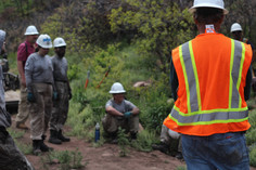 Mitigation Work with the Americorp Team!