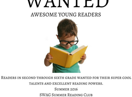 CIS Communities Summer Reading Club – SWAG – Students with a Goal