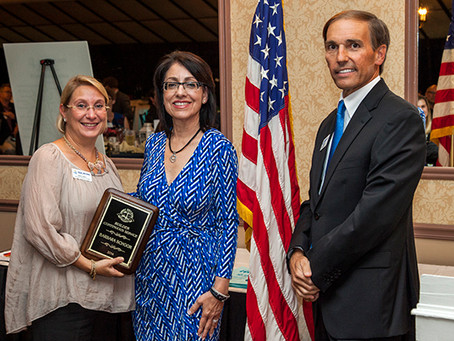 Shore Builders Association of Central New Jersey Awards Barbara K. Schoor with Continuing Service Aw