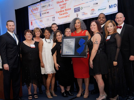 """CIS Management Wins """"Management Company of the Year Award"""" at New Jersey Apartment Association's Gar"""