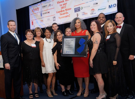 "CIS Management Wins ""Management Company of the Year Award"" at New Jersey Apartment Association's Gar"