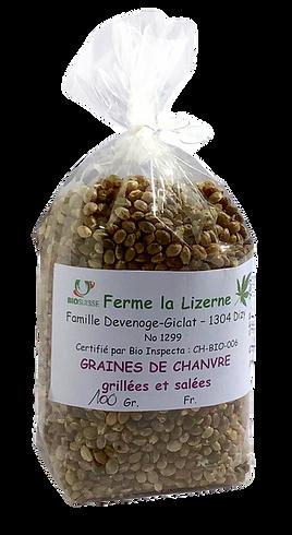 Graines de Chanvre, Ferme BIO La Lizerne, Dizy