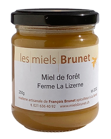 Miel de printemps, miel de forêt, Ferme BIO La Lizerne, Dizy