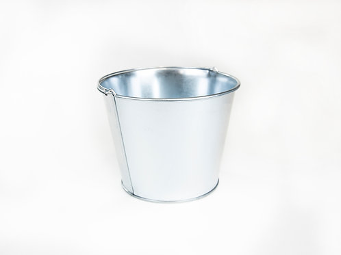 Medium Galvanized Bucket