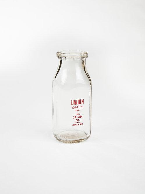 Mini Vintage Milk Jars