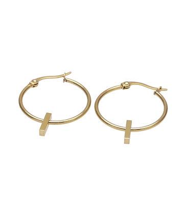 OTA Earrings small hoops fine