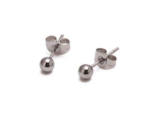 JAEDA Earrings ball stud