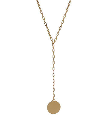 JAEDA Necklace flat round