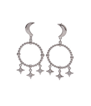 VEGA Earrings stars & moon