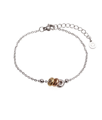 AGATA Bracelet triple color chain