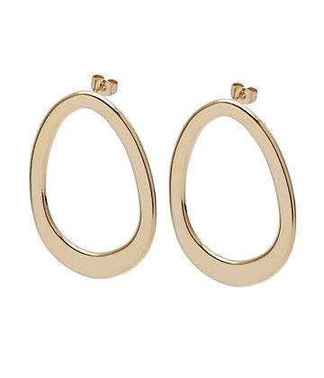 HALO Earrings oval