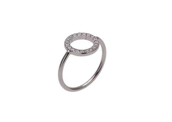 OTA Ring fine strass round