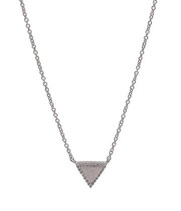 FAITH Necklace triangle