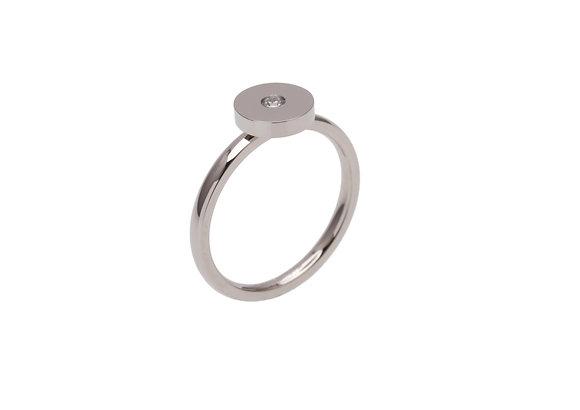 ZOE Ring round stone