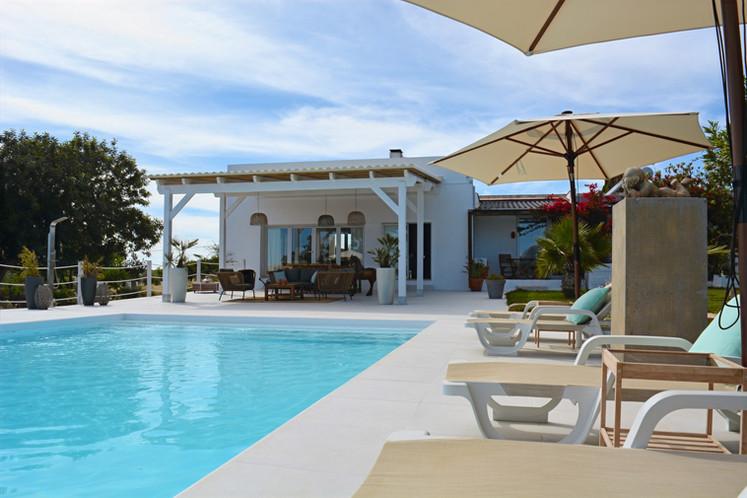 New pool and pergola