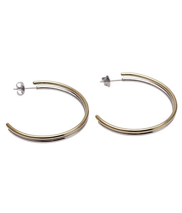AGATA Earrings double hoop