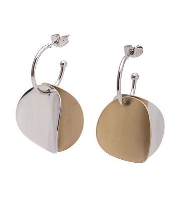 EUPHONY Earrings double hoop