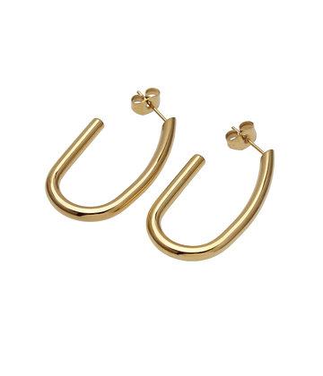 HALO Earrings oval medium