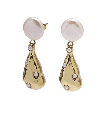 SEADRAGON Earrings pearl