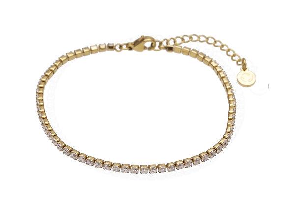 JULIA Bracelet strass line fine