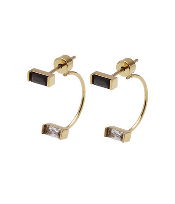 ISAIAH Earrings M 2 baguette