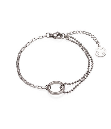 SAFIA Bracelet double chain