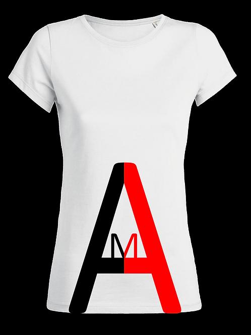 """T-Shirt  """"BIG A"""" Blanc"""