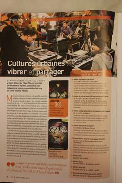 culture urbaine 2012/2013