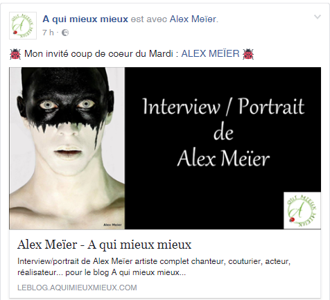 """Interview """" A qui mieux mieux"""""""