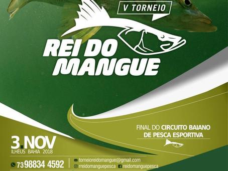 V Torneio: Rei do Mangue, acontecerá no dia 3 de novembro em Ilhéus. Confira!