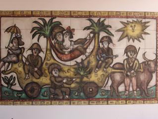 Jardim Atlântico e as obras de Reinaldo Eckenberger.