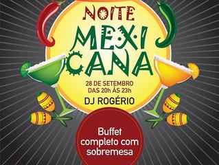 Vem aí a Noite Mexicana no Jardim Atlântico Beach Resort. Confira!