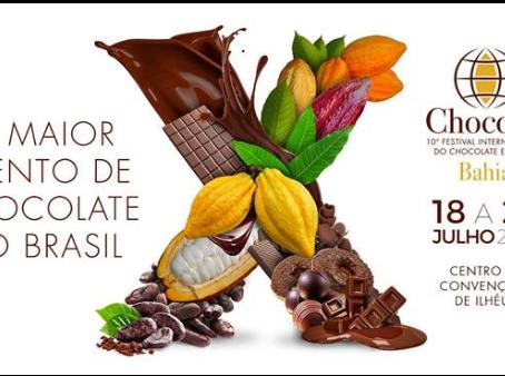 10º Festival Internacional de Chocolate e Cacau em Ilhéus