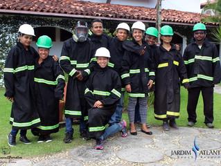 Jardim Atlântico Beach Resort forma mais uma turma de colaboradores em curso de brigada de incêndio
