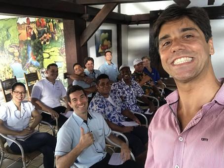 Jardim Atlântico Resort treina seus funcionários em SPIN SELLING