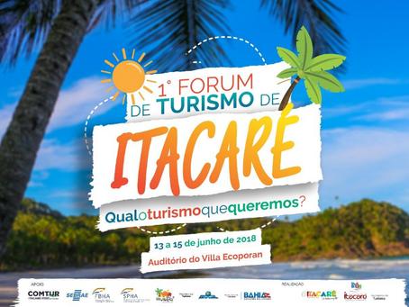 RBA presente no 1º Fórum de Turismo de Itacaré. Confira!