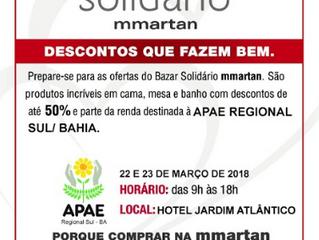 Bazar Beneficente da APAE