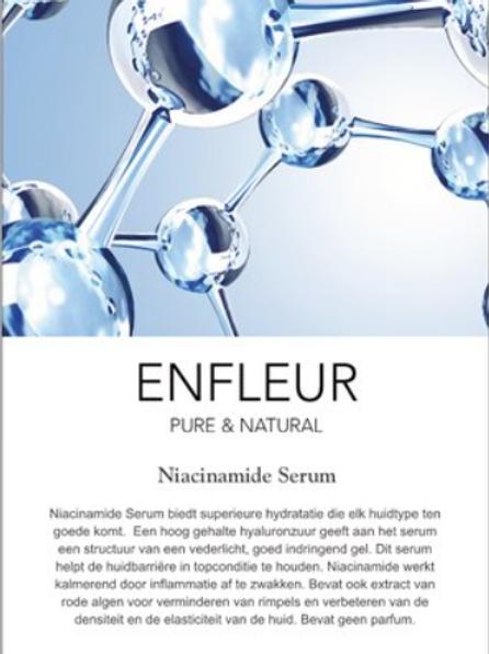 Infokaartje Niacinamide Serum 10 stuks